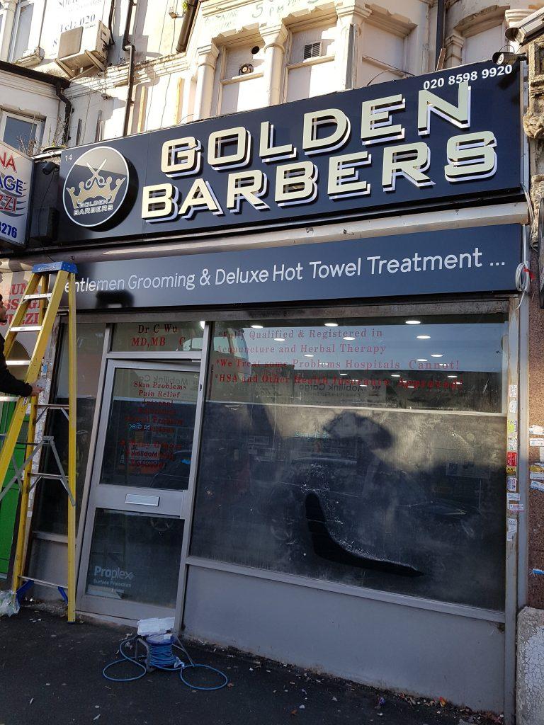 Shopfront Repair